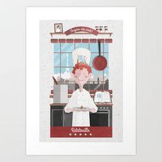 Ratatouille poster  Art Print by MSINCLAN - $18.00