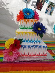 Decoraciones de pasteles al estilo mexicano Pinterest Mexicans