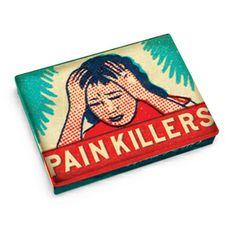 BlueQ Painkillers Tin Pocket Box