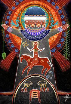 "#Svarog , #slavic_gods , #mythology , #slavic_myths  ""Deus Dator"" http://vesemir.blogspot.ru/2013/10/blog-post_14.html"