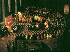 Cuadro del Concilio de Trento (1545)