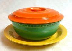 Vintage Fiesta Ware Promotional Kitchen Set (Older)