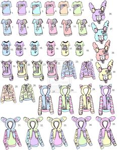 -CLOSED - Kawaii Shirts by Guppie-Adopts on deviantART