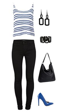 """""""Untitled #843"""" by netteskytte on Polyvore featuring Michael Antonio, J Brand and Rebecca"""