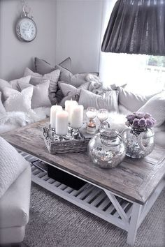 Gray Living Room cozy modern living room interior design con