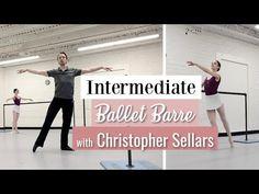 Intermediate Ballet Barre with Christopher Sellars Ballet Music, Ballet Barre, City Ballet, Pole Dance Moves, Pole Dancing, Dance Class, Dance Studio, Adult Ballet Class, Half Marathon Training