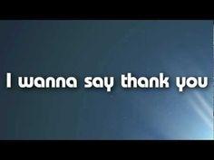 Thank You - The Katinas (Lyric) (HD)