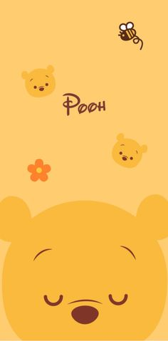 Iphone Wallpaper Tumblr Aesthetic, Funny Phone Wallpaper, Sanrio Wallpaper, Disney Phone Wallpaper, Bear Wallpaper, Wallpaper Iphone Disney, Cute Winnie The Pooh, Winne The Pooh, Cute Patterns Wallpaper