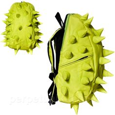 DINOSAUR LIME MAD PAX BACKPACK Could ya'll see me rollin up on campus with this thing!? Hahaha love it!