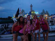 The bachelorettes are not shy about coming out at night and starting their evening at the Jet Express dock. Put In Bay Hotels, Put In Bay Ohio, Bachelorette Party Supplies, Island Pictures, Lake Erie, Party Items, Most Beautiful, Celebrities, Lady