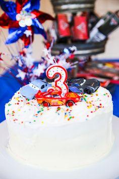 Max's Lightening McQueen Birthday Party | BowerPower - generally inexpensive ideas