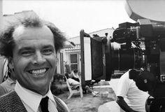 Jack Nicholson on set, 1975 by Julian Wasser
