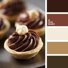 коричневые оттенки, коричневый, монохромная коричневая палитра, монохромная цветовая палитра, оттенки коричневого, пастельные коричневые тона, подбор цвета, цвет выпечки, цвет какао, цвет кофе, цвет шелухи чеснока, цвет шоколада, цветовое