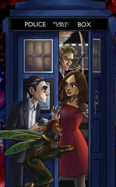 Artemis Fowl Doctor Who crossover<<Saw this and was immediately transported back to my 14-year old self.