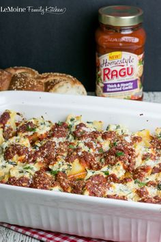 Spinach Artichoke Stuffed Shells. #SimmeredinTradition with the new Ragu #HomestyleSauces. The filling is cheesy and flavorful! A perfect easy family meal.