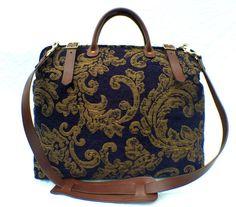 Carpet Bag Weekender / Overnight / 'Carpet' Travel by LondonJacks