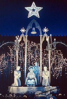 Nativity Scene at the Parthenon  1953-1967. A true Nahville memory, just beautiful!