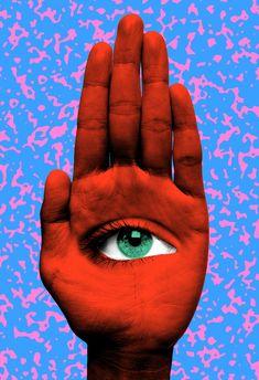 All Seeing Eye Art Print by Tyler Spangler - X-Small Psychedelic Art, Art Pop, Art Hippie, Art Du Collage, Tyler Spangler, Eye Art, Buy Prints, Surreal Art, Art Inspo