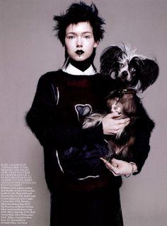 Vogue UK, Aug 2012