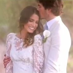 Ian Somerhalder and Nikki Reed's Wedding Video Is Beyond Romantic: A video posted by Nikki Reed (@iamnikkireed) on May 26, 2015 at 6:07pm PDT    If the romantic pictures from Nikki Reed and Ian Somerhalder's wedding impressed you, wait until you watch the sweet video from their breathtaking nuptials.