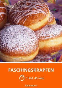 Faschingskrapfen - smarter - Zeit: 1 Std. 45 Min. | eatsmarter.de