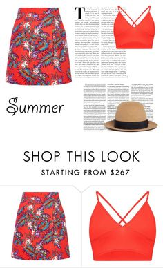 """Summer Colors"" by yellow3gold ❤ liked on Polyvore featuring House of Holland and My Bob"