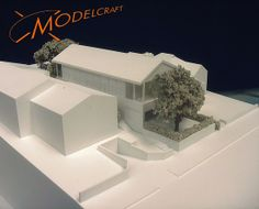 White Architectural Model by Modelcraft (NSW) Pty Ltd Cube, Architecture Models, Design, Architectural Models