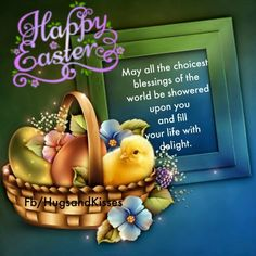 easter pictures easter blessings happy easter quotes quotes for easter Happy Easter Quotes, Happy Quotes, Quotes Quotes, Easter Pictures, He Is Risen, Blessed, Blessings, Spring, Happiness Quotes