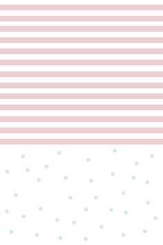 Pastel pink white stripes mint spots dots confetti iphone wallpaper phone background lock screen