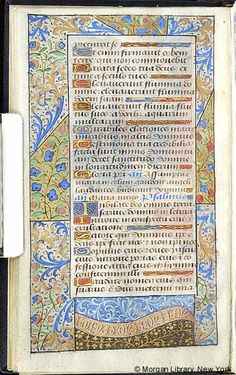Book of Hours, MS M.7 fol. 14v - Images from Medieval and Renaissance Manuscripts - The Morgan Library & Museum