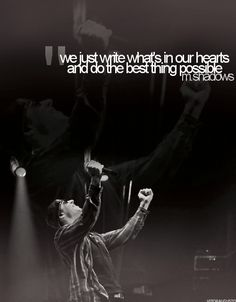 A quote from M. Shadows of Avenged Sevenfold
