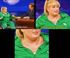 Rebel Wilson. LOVE HER. I literally laughed out loud at this.