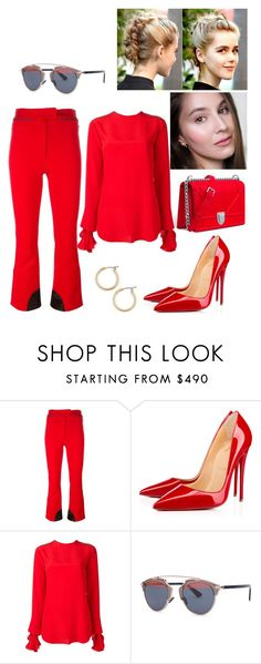 """TV #152"" by tynabrookler ❤ liked on Polyvore featuring Nina Ricci, Christian Dior and Nordstrom"