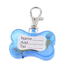 Uxcell Pet Dog Puppy LED LightUp Flashing Safety Collar ID Tag RedBlue * See this great product.