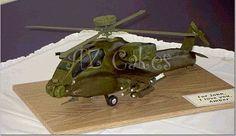 apache helicopter cake idea