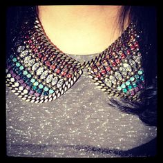 Collar necklaces bring about so many possibilities. http://www.treasurebox.co.uk/jewellery-c1/necklaces-c20#t373