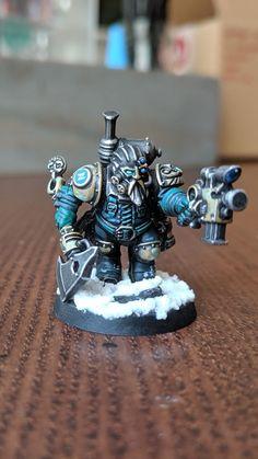 Kharadron Overlords, Hobgoblin, Warhammer 40k Miniatures, The Grim, Dwarf, Marines, Diorama, Squats, Nerd