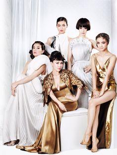 Fan Bing Bing by Mario Testino for Vogue China September 2015