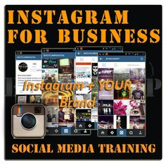 Join us for the Instagram Marketing for Business Training course. We'll be teaching businesses how to get results from visual marketing on Instagram.  @kristaneher is the lead trainer, so you know it'll be entertaining and inspirational!