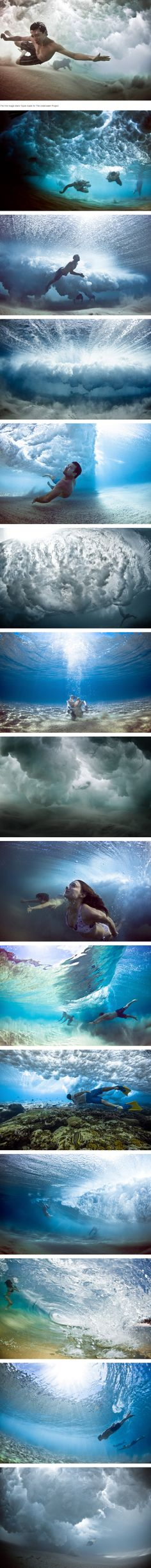 "A strip of images from Mark Tipple's renown ""The Underwater Project"" (WInter 2010 - Summer 2012) http://shorty.3rdlof.com/g3dup  A video is available:  http://shorty.3rdlof.com/ed9my"