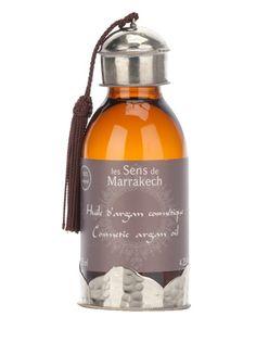 'Huile d'argan cosmetique' Bath oil from Le Sense de Marrakech.