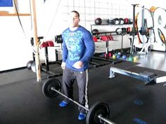 Quick tips for the Thruster Crossfit with Jason Khalipa. WODshop.com