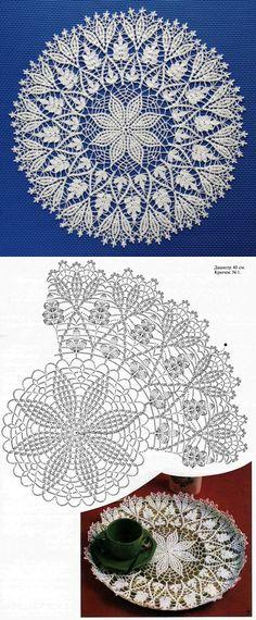 Crochet Table Runner Pattern, Free Crochet Doily Patterns, Crochet Doily Diagram, Crochet Lace Edging, Crochet Tablecloth, Crochet Chart, Thread Crochet, Tatting Patterns, Crochet Dollies