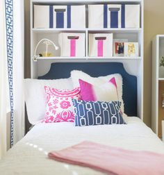It works with any twin dorm bed that isn't built in! Don't know if your bed will be lofted, semi-lofted, or in a cubby? What if your bed is different next year