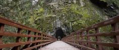 Coquihalla Canyon Provincial Park is home to the magical and historical Othello Tunnels, making it a must visit location for outdoor enthusiasts. Othello, Car Travel, Canada Travel, British Columbia, Garden Bridge, Parks, Places To Go, Outdoor Structures, Canada Destinations