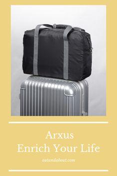 InterestPrint Unisex Duffel Bag Carry-on Bag Overnight Bag Weekender Bag Cows in a Field