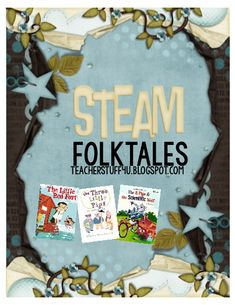 Study the structures of Fables and Folktales, compare and contrast fractured fables and folktales with the classic versions, and get some great opportunities to learn about the Engineering Design Process. Steam Art, Stem Steam, Library Lessons, Library Week, Reading Lessons, Guided Reading, Engineering Design Process, Second Grade Teacher, Steam Activities