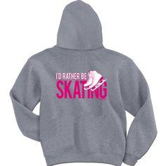 Figure skating sweater
