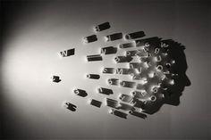 Arte em Luz e Sombra por Kumi Yamashita Shadow Art, Shadow Play, Kumi Yamashita, Shadow Portraits, Shadow Photos, Ombres Portées, Shadow People, Silhouette Art, Japanese Artists