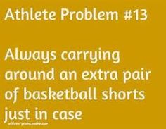 Guilty, i always pack two pairs of shorts